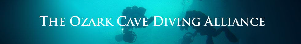 The Ozark Cave Diving Alliance